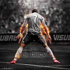 Fotos do Cristiano Ronaldo como se fosse um super herói