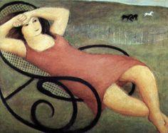 Oil Painting by Argentine Artist Raul Soldi Art Deco Artists, Artist Art, Spanish Artists, Dutch Artists, Contemporary Artists, Modern Art, Art Of Love, Italian Artist, Japanese Artists