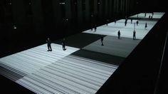 Ryoji Ikeda : test pattern [100m version], 2013 on Vimeo