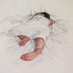 "Saatchi Online Artist: Erin Whitman; Pencil, Drawing ""Safety"""