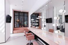 Interior Light Bar – Home Interior Decor Beauty Room Decor, Beauty Salon Decor, Beauty Salon Interior, Salon Interior Design, Studio Interior, Makeup Studio Decor, Nail Salon Decor, Makeup Room Decor, Makeup Rooms