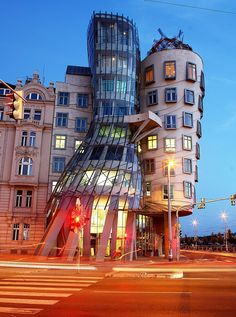 Frank Gehry's Dancing House, Prague by Dino Quinzani