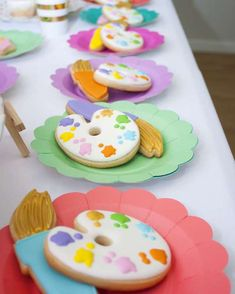 Flashy-Neon-Paint-Party-Sugar-Cookies