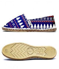 quality design f2f26 29a04 Espadrilles de Noël - Chaussures légères motif de noël En savoir plus sur  ce produit PAYOTE