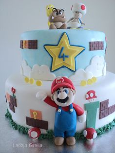 Super mario I always kinda dreamed of making cakes.