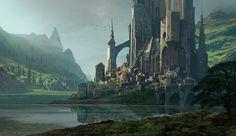 ArtStation - KvasIr Fortress, Raphael Lacoste