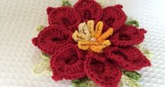 A bunch of beautiful crocheted flowers in Portuguese - Page 3