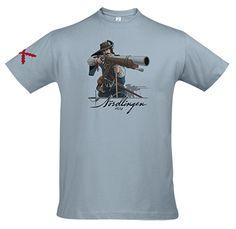 Camiseta Batalla de Nordlingen. Diseño: David Cabeza