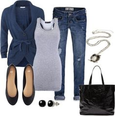 """Perfect Saturday Morning Outfit"" by alanad23 on Polyvore"