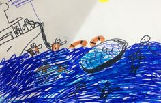 The lifesavers tackling refugee children's trauma of the sea head on.