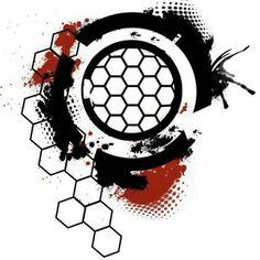 Images For > Geometric Hexagon Tattoo Más Geometric Hexagon Tattoo, Geometric Sleeve Tattoo, Geometric Art, Dot Work Tattoo, Arm Tattoo, Body Art Tattoos, Sleeve Tattoos, Trash Polka Art, Trash Art