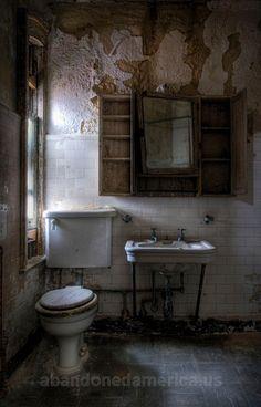 Eerie. Ellis Island Communicable Hospital.