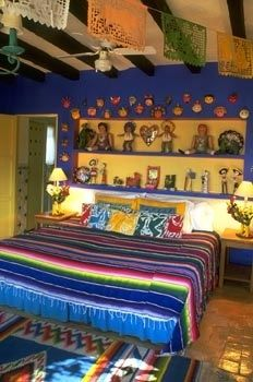 Mexican Bedroom Interior Design   For More Inspiration, Visit Www.