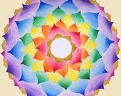 Blessed You Mandala by Anat Bar
