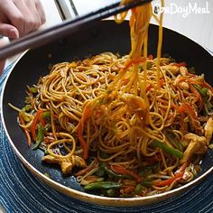 Easy Lo Mein Recipe Chow Mein has been a popular recipe.Recipes detail is readily available on my website. Wok Recipes, Asian Noodle Recipes, Easy Chinese Recipes, Easy Dinner Recipes, Asian Recipes, Chicken Recipes, Easy Meals, Cooking Recipes, Rice Noodle Recipes