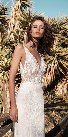 Fairytale Flora Wedding Dresses 2018 ★ See more: https://weddingdressesguide.com/flora-wedding-dresses/ #bridalgown #weddingdress