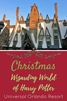 Christmas is coming to the Wizarding World of Harry Potter at Universal Orlando Resort. Read more on what festivities will take place.