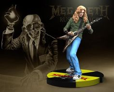 Dave Mustaine (Megadeth) Rock Iconz Statue
