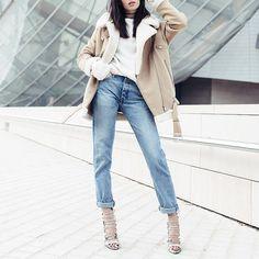 New #ootd up on alex-closet.com  je vous dis d'ou vient cette veste  by @lyloutte   Bonne soirée  #alexcloset by alexcloset