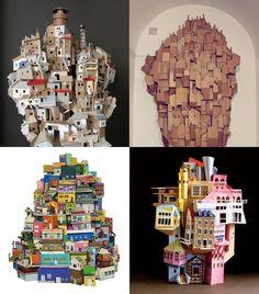 Cardboard houses :)