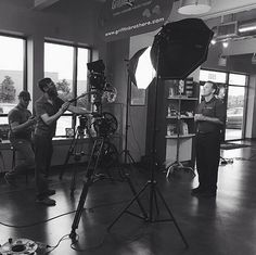 Here's a peek behind the scenes of our newest Griffin Brothers commercial with WCCB Charlotte.