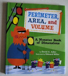 Mommy Maestra: Monday's Math Marathon Begins with a Monster Book of Dimensions