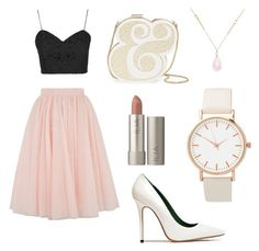 """""""Ballerina night out"""" by inthespockears on Polyvore featuring Ted Baker, Topshop, Acne Studios, White House Black Market and Kate Spade"""