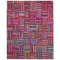 Brilliant Ribbon Tiles Rug (8' x 10') | Overstock.com Shopping - Great Deals on 7x9 - 10x14 Rugs