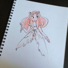 Sketchy little elf lady
