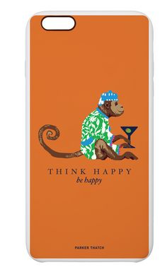 cocktail monkey orange from Parker Thatch Think Happy Be Happy, Dress Your Tech, Techno, Monkey, Iphone 6, Lunch Box, Ipad, Cocktails, Phone Cases