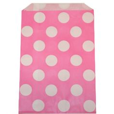 Dot Pink Goodie Bags - $3/pack of 12 from Sweets & Treats Boutique