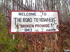 Bryson City, NC - Road to Nowhere