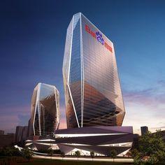Baidu headquarters by Saraiva Associados
