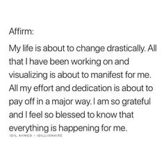 I am grateful Positive Affirmations Quotes, Morning Affirmations, Affirmation Quotes, Positive Quotes, Self Love Quotes, Quotes To Live By, Life Quotes, Daily Quotes, Law Of Attraction Affirmations