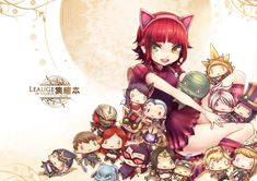 [LOL] Annie cover was finished~! by beanbean1988.deviantart.com on @DeviantArt