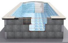 concrete above ground pool - Google Search                              …