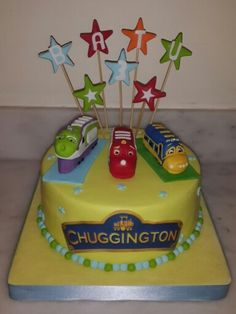 Chuggington Cake Wilson From Chuggington Vehicle Cakes - Chuggington birthday cake