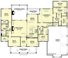 House Plan chp-59451 at COOLhouseplans.com