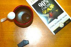 Mousse de chocolate. Receta Fitness. http://goo.gl/6mFmkG