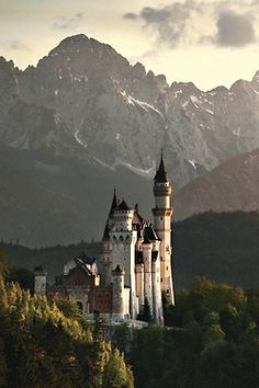 The Mad Kings Castle - Neuschwanstein Castle, Germany by Kilian Schönberger
