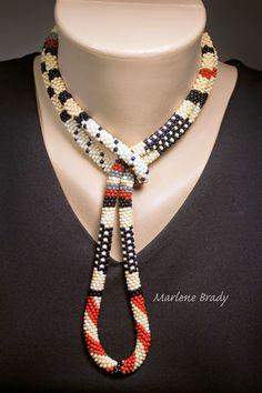 Marlene Brady: Polka Dots & Stripes in Bead Crochet