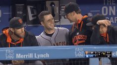 When Buster smiles.... I smile :) SF Giants