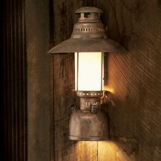 Grand River Lodge™ Half-Lantern Wall Sconce with Down Lamp