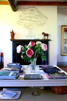 dettaglio del soggiorno  living room detail