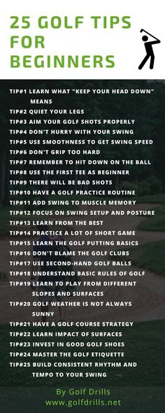 To know the best golf tips for beginners, check this comprehensive list of tips…. To know the best golf tips for beginners, check this comprehensive list of tips. Tips are easy to understand and includes how to implement these to your game. Golf Sport, Golf Putting Tips, Best Golf Clubs, Golf Chipping, Chipping Tips, Golf Tips For Beginners, Golf Exercises, Workouts, Perfect Golf