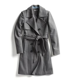 Stitch Fix Fall Stylist Picks: Classic grey coat