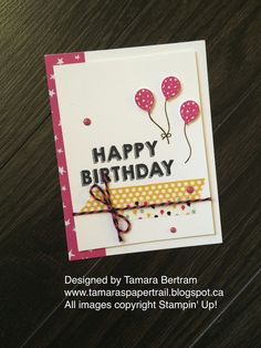 Tamara's Paper Trail: It's My Party Catty Case