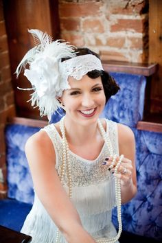 Retro Wedding - Reminds me of the Great Gatsby Designs