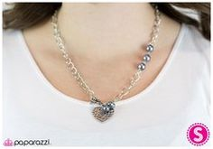 Heart of the Matter - Silver http://www.paparazziaccessories.com/14718