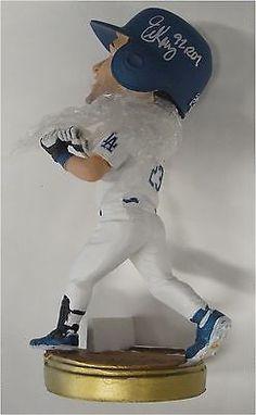 Eric Karros Hand Signed Autographed Major League Bobble Head LA Dodgers With Box